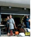 Jimmy Dimora, Michael Gabor, Joey Vincinguerra and Steve Pumper at Bare pool at Mirage Hotel in Vegas