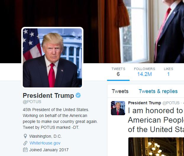 Twitter Investigating Complaints About Potus Account Transfer Fox8 Com