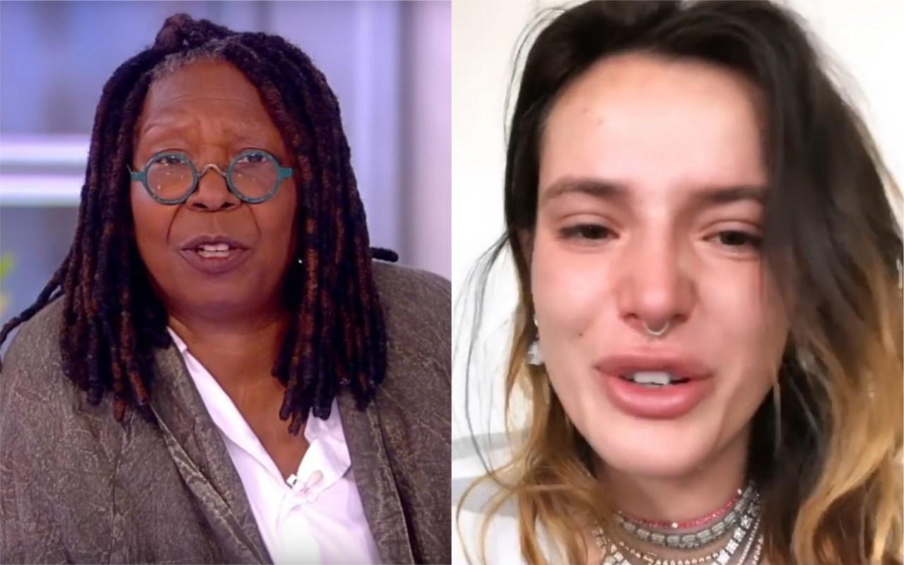 Bella Hadid blasts Whoopi Goldberg for slut shaming her