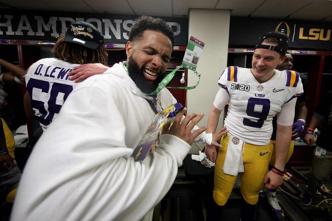 LSU bans Odell Beckham Jr. for two years, reports say