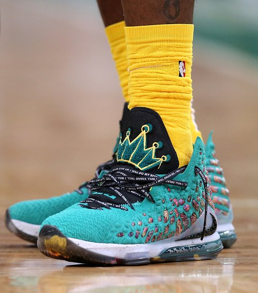 LeBron James' shoe inspired by I