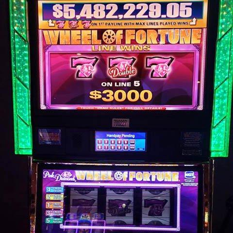 Wheel of Fortune Jackpot in Vegas