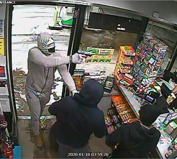 Armed robbery, Geauga County Parkman BP