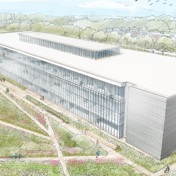 Cleveland Clinic Mentor Hospital rendering