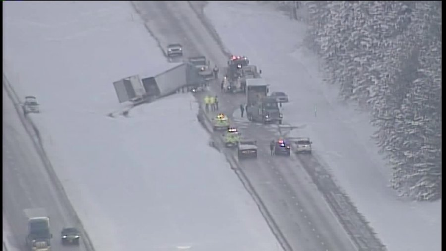 Ashtabula County crash- image via SkyFOX