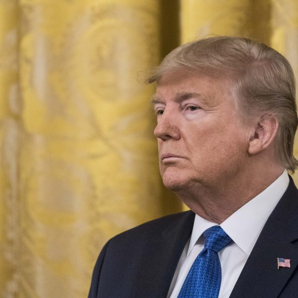 (Getty/Editorial ) President Trump Delivers Remarks At White House Summit On Human Trafficking
