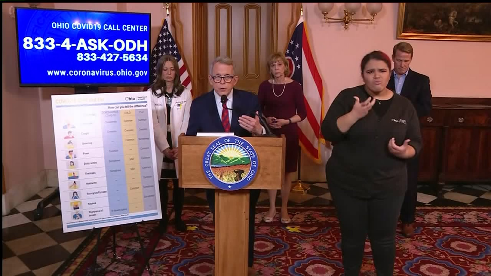 Gov. DeWine addresses Ohio National Guard rumors