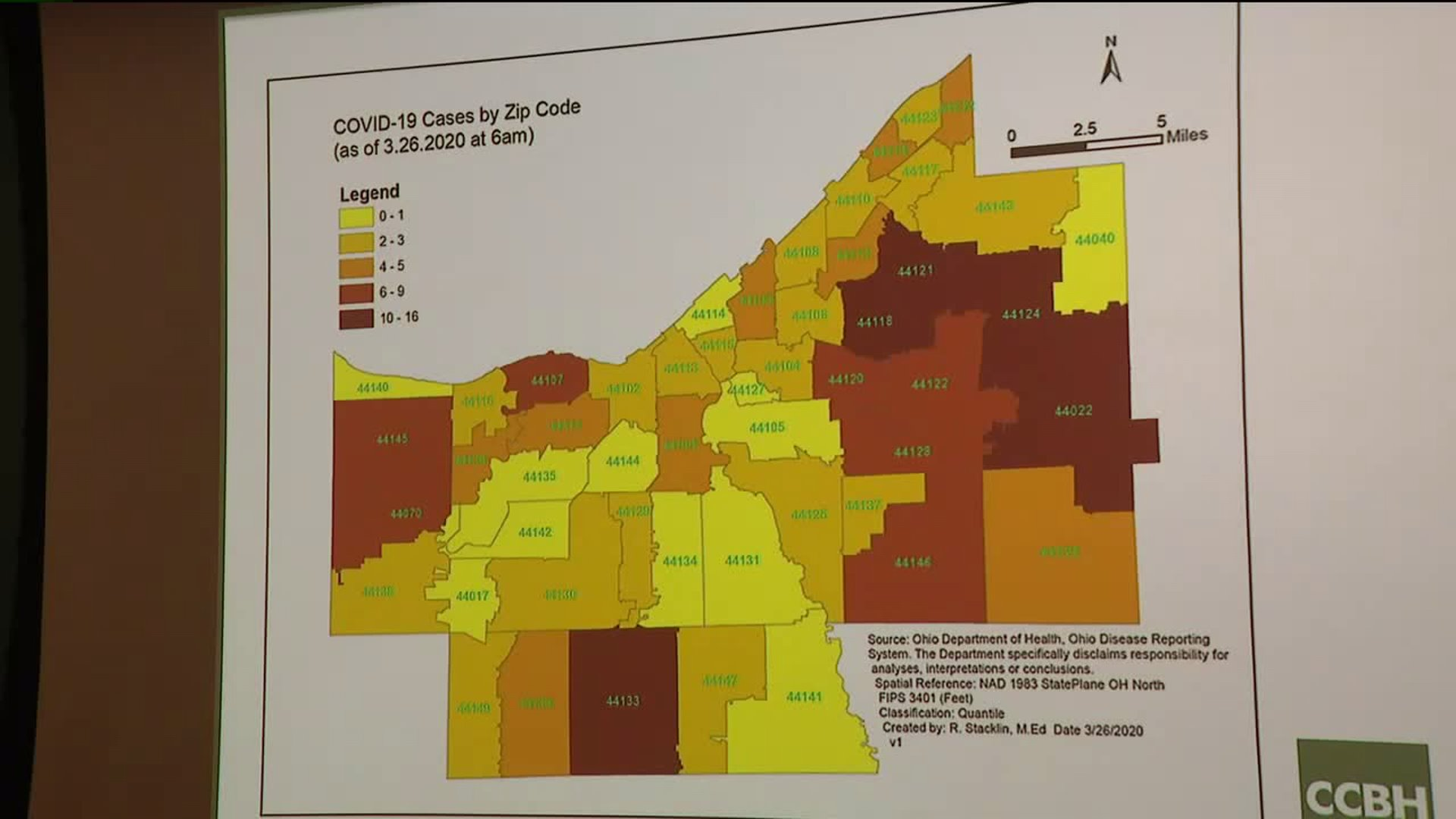 Picture of: Cuyahoga County Map Shows Coronavirus Cases By Zip Code
