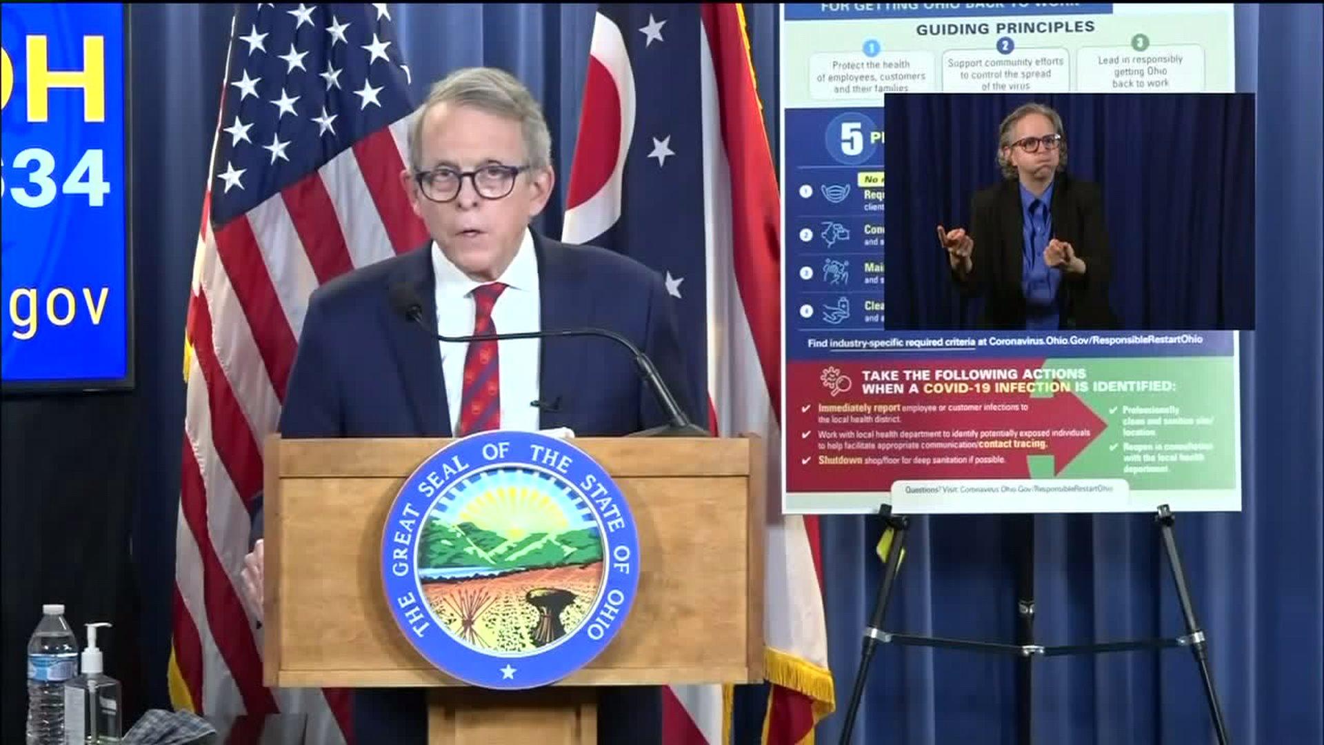 Coronavirus Shutdown Gov Dewine To Announce Plans For Gradual Reopening Of Ohio