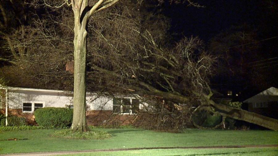 Barberton storm damage