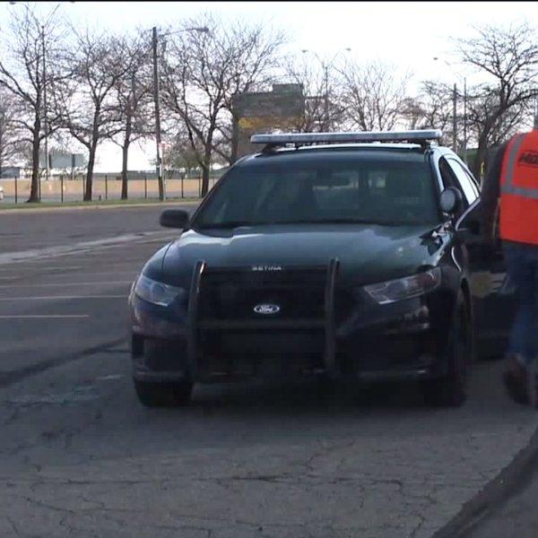 cleveland police car sterilized
