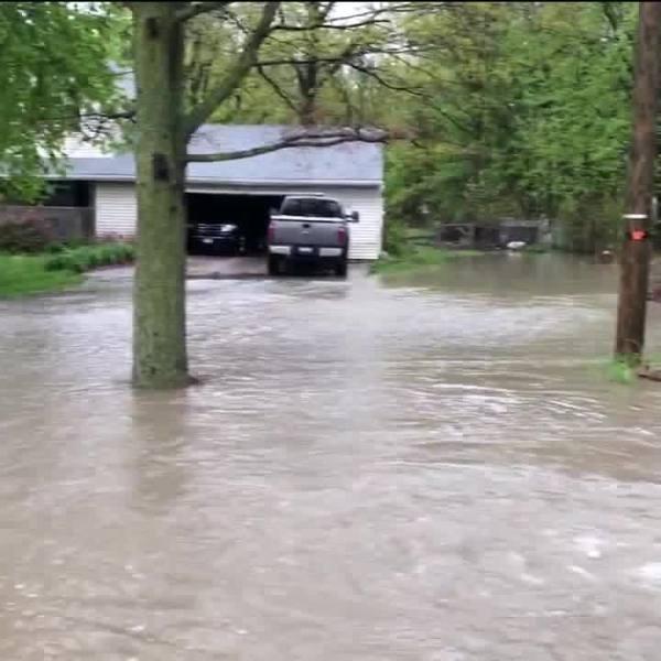 Lear Nagle Road North Ridgeville flooding