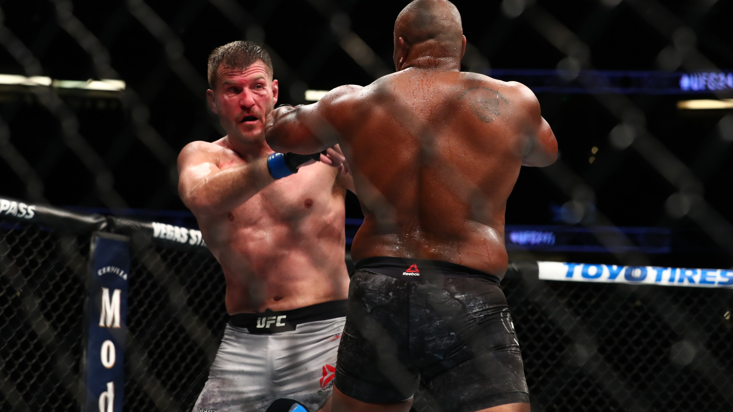 Stipe Miocic and Daniel Cormier