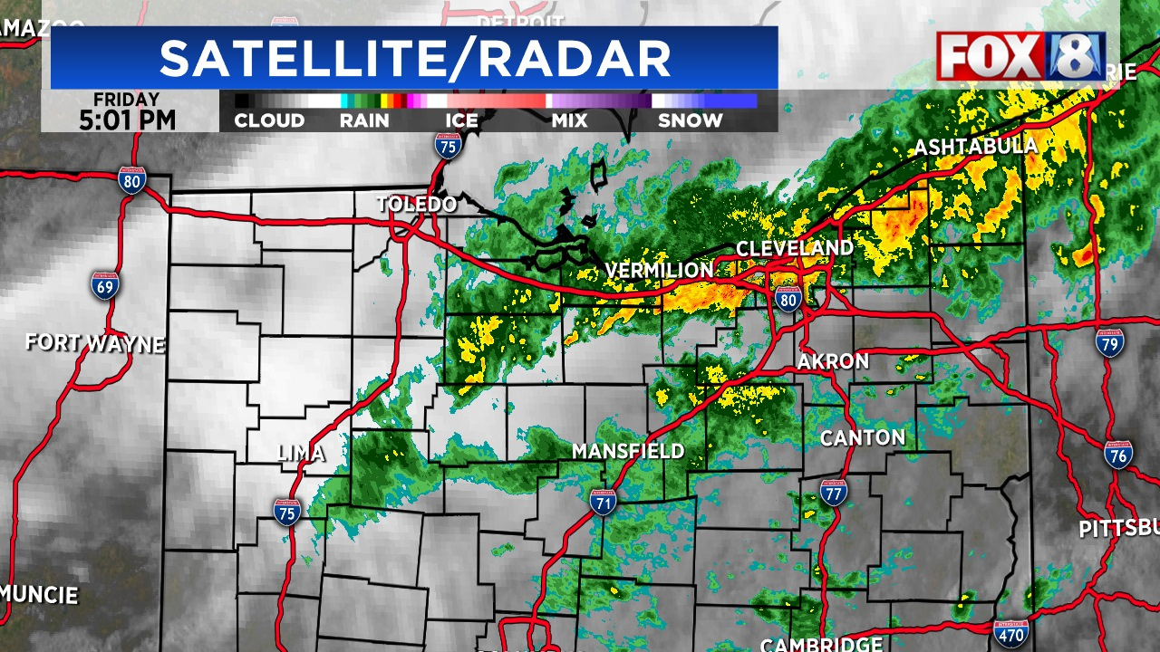 Flood advisory issued for part of NE Ohio