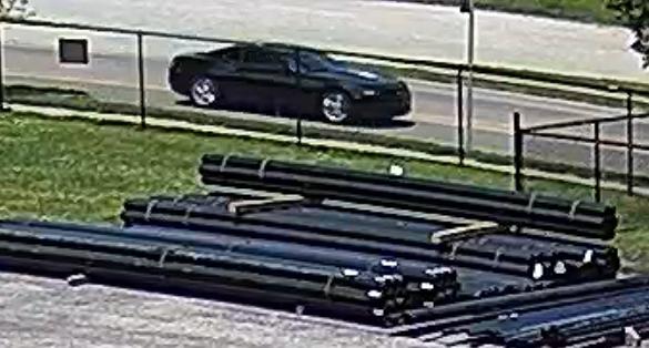 Na'kia Crawford suspect vehicle