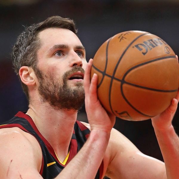 Kevin Love #0 of the Cleveland