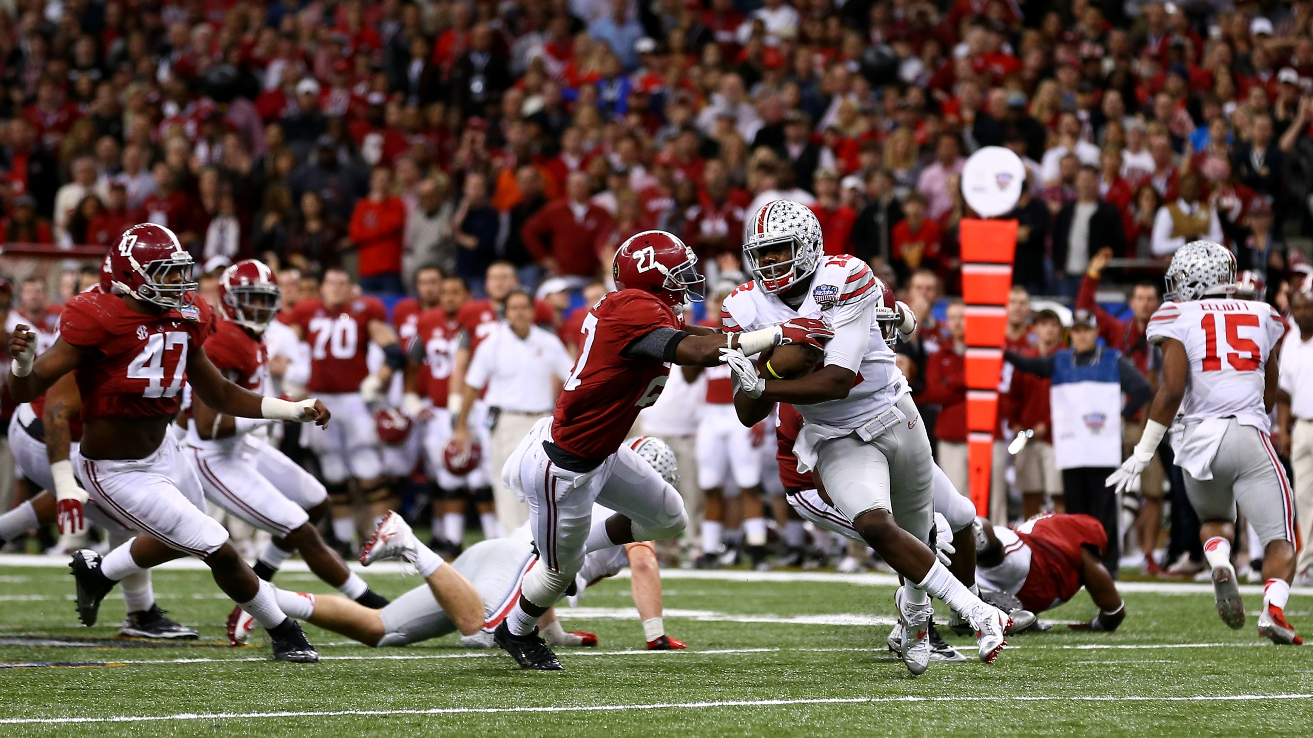 Ohio State Alabama To Face Off In Home And Home Series In 2027 28