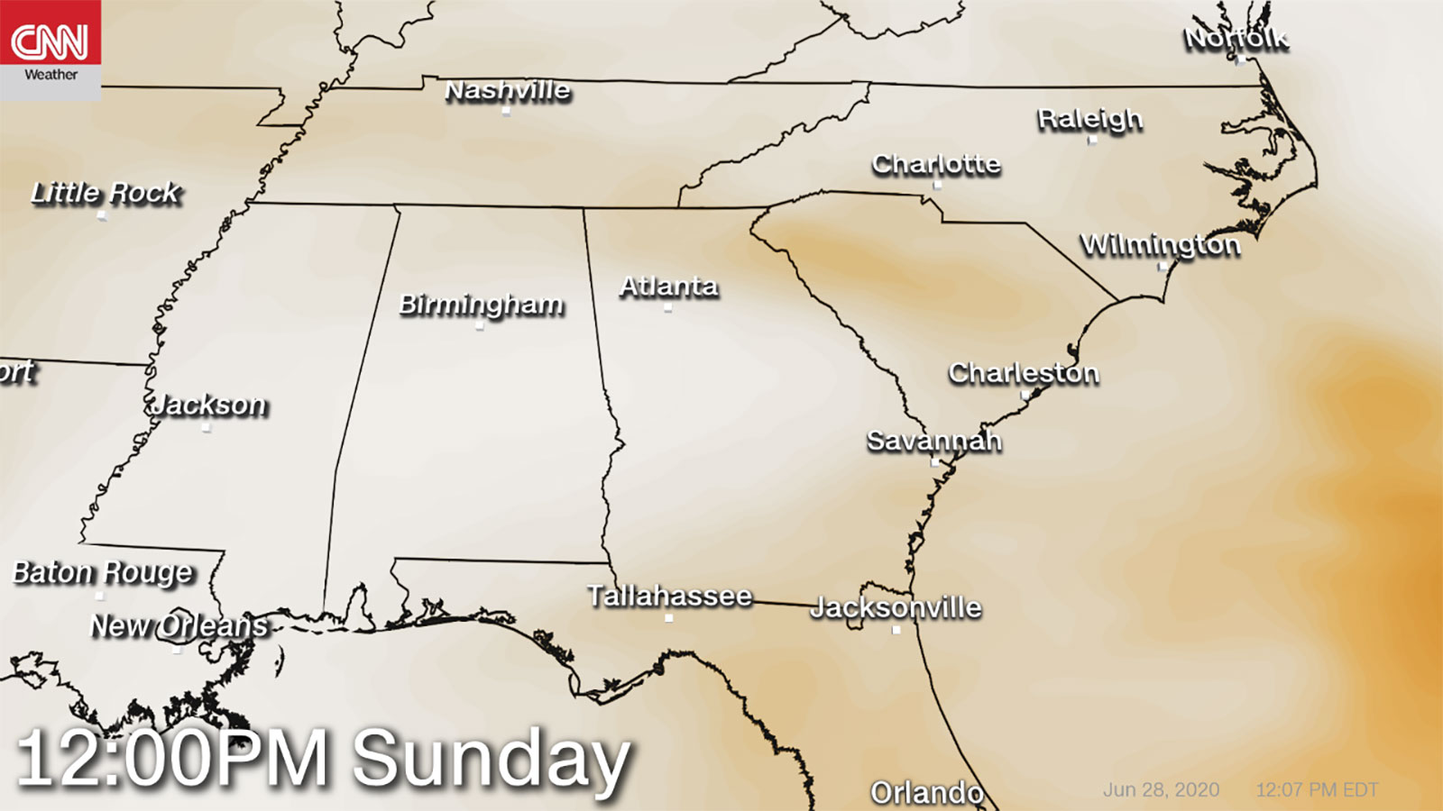 Georgia officials warned this weekend about potential health problems related to the Saharan dust cloud hovering over the state.