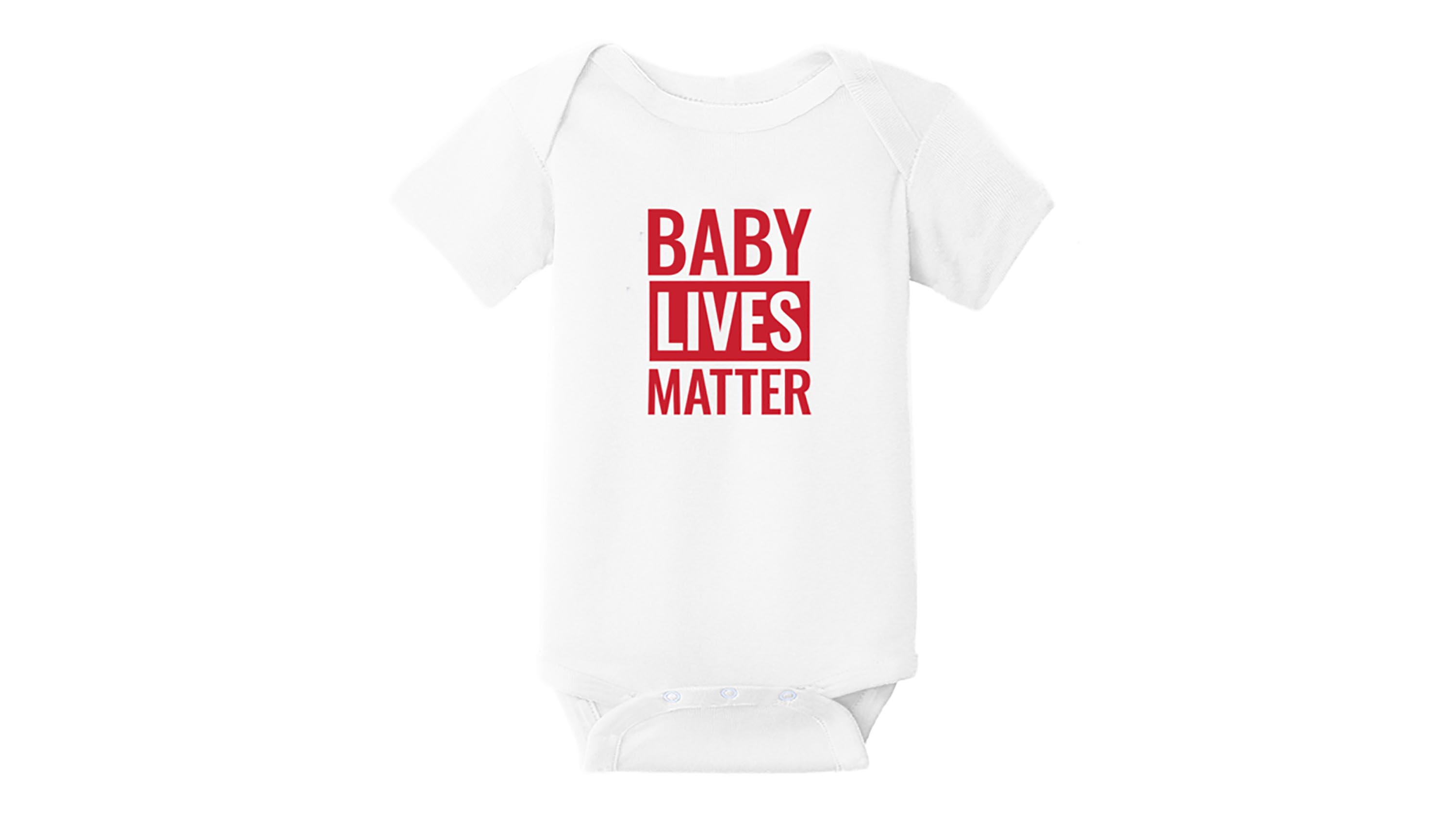 Black Lives Matter Logo Smalls Baby Onesie,Infant Bodysuit Black