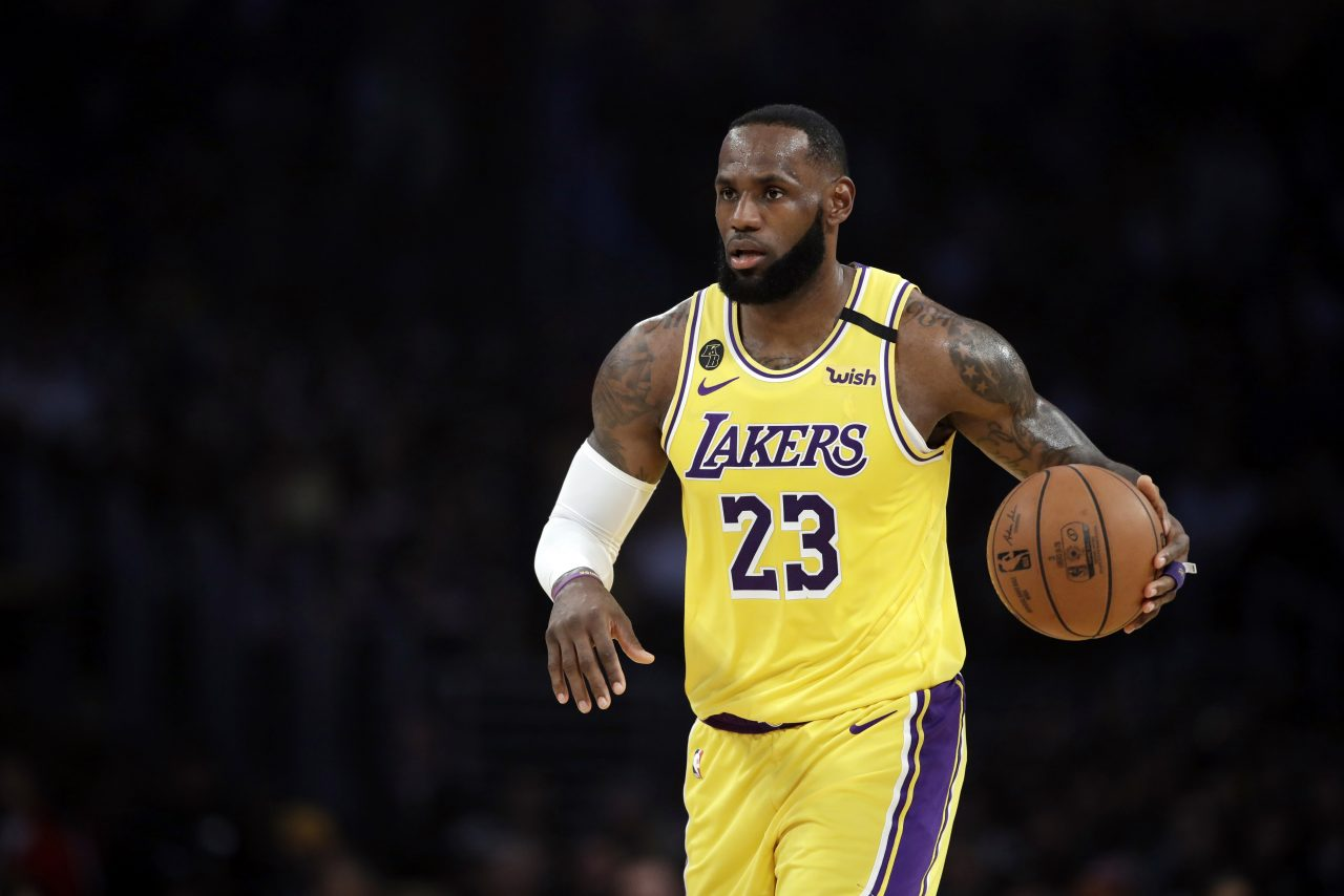 LeBron James won't wear social justice message on Lakers jersey