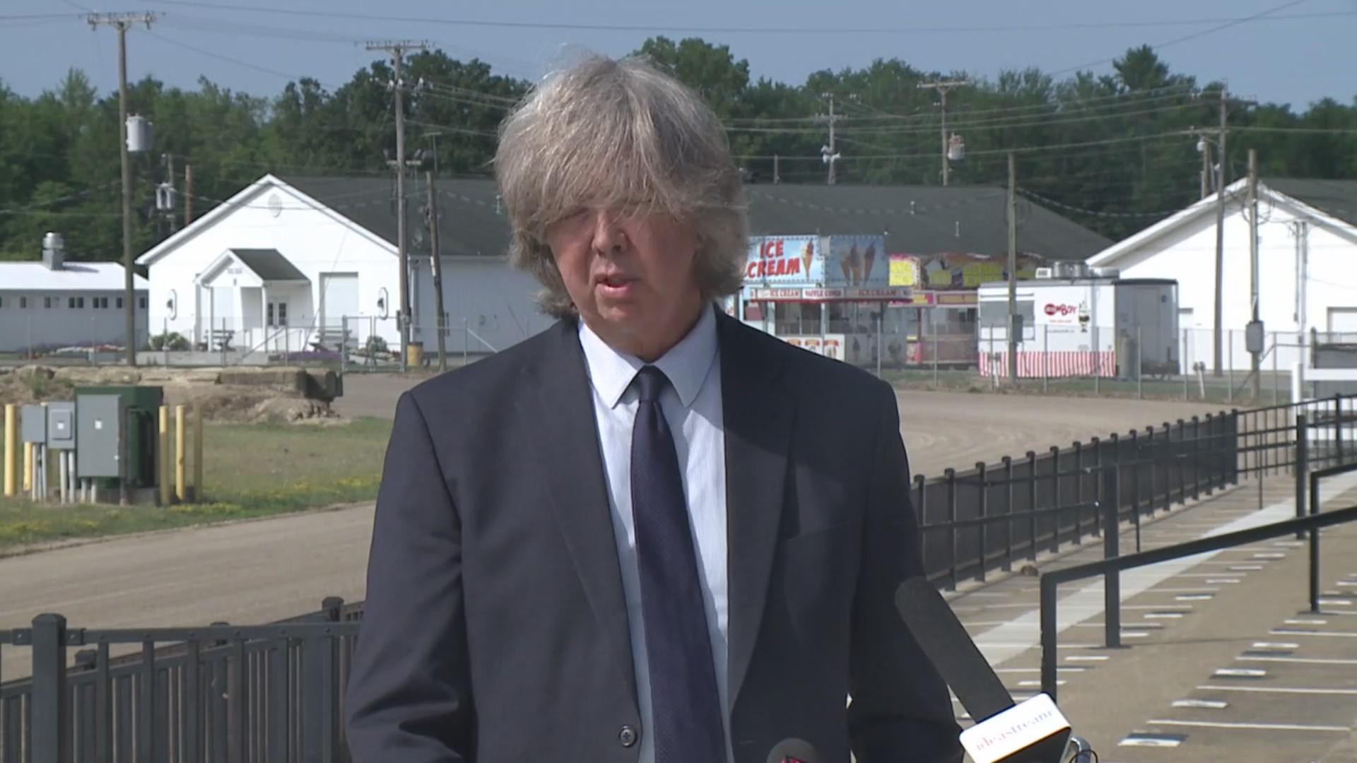 Lorain County Fair Board President Kim Meyers