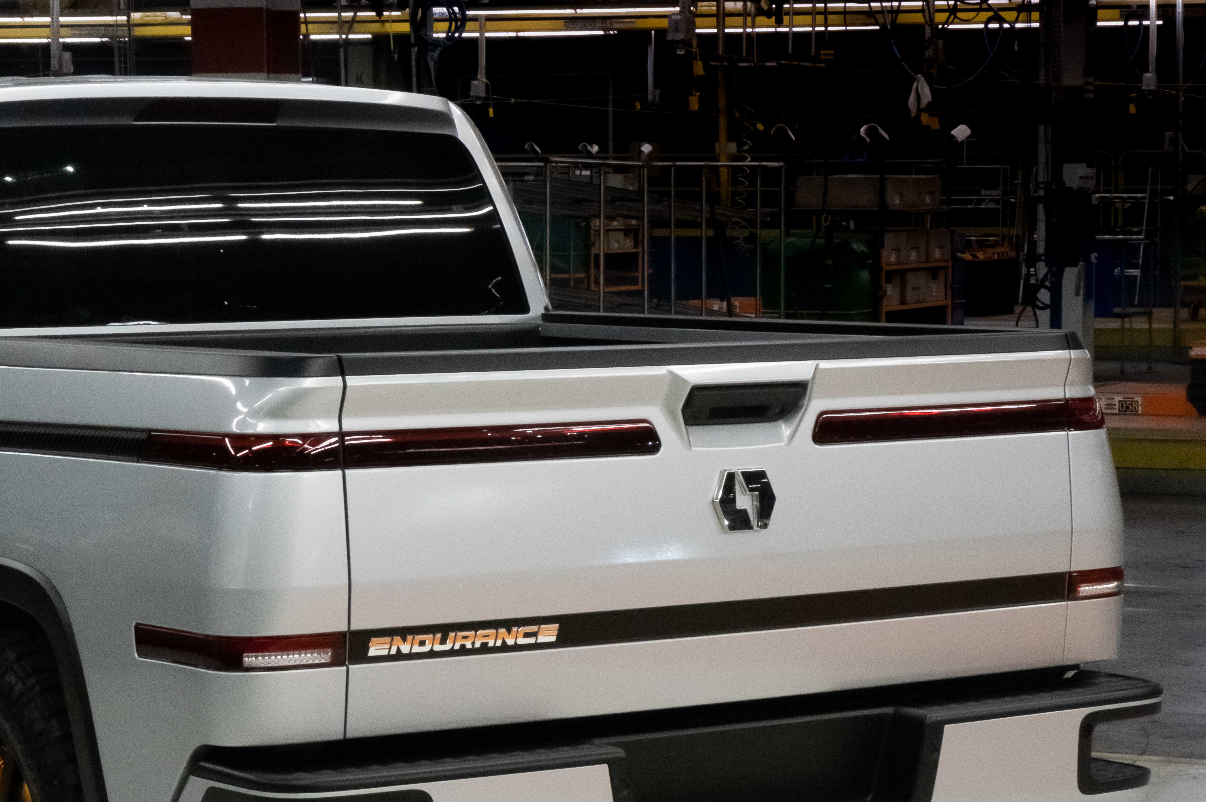 First Look Lordstown Endurance Electric Pickup Truck Interior Photos