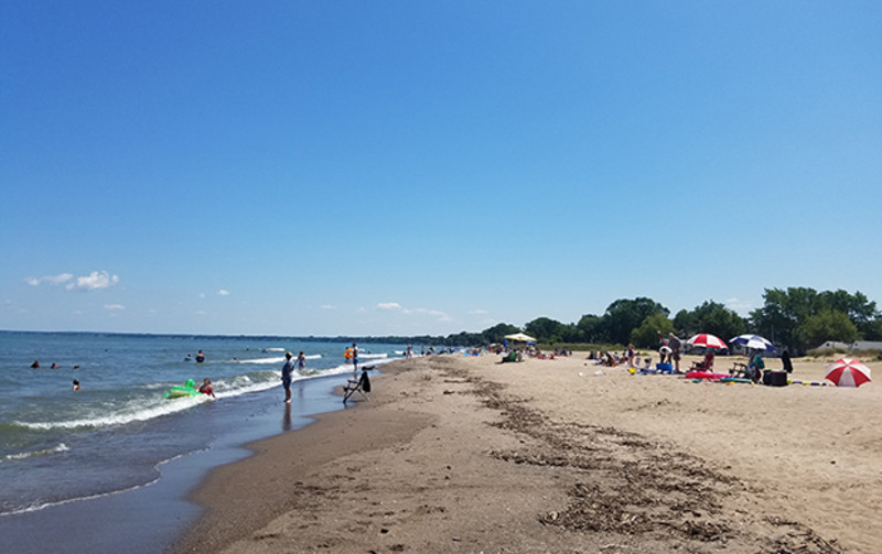 National Weather Service Issues Beach Hazards Statement For Some Counties Along Lake Erie