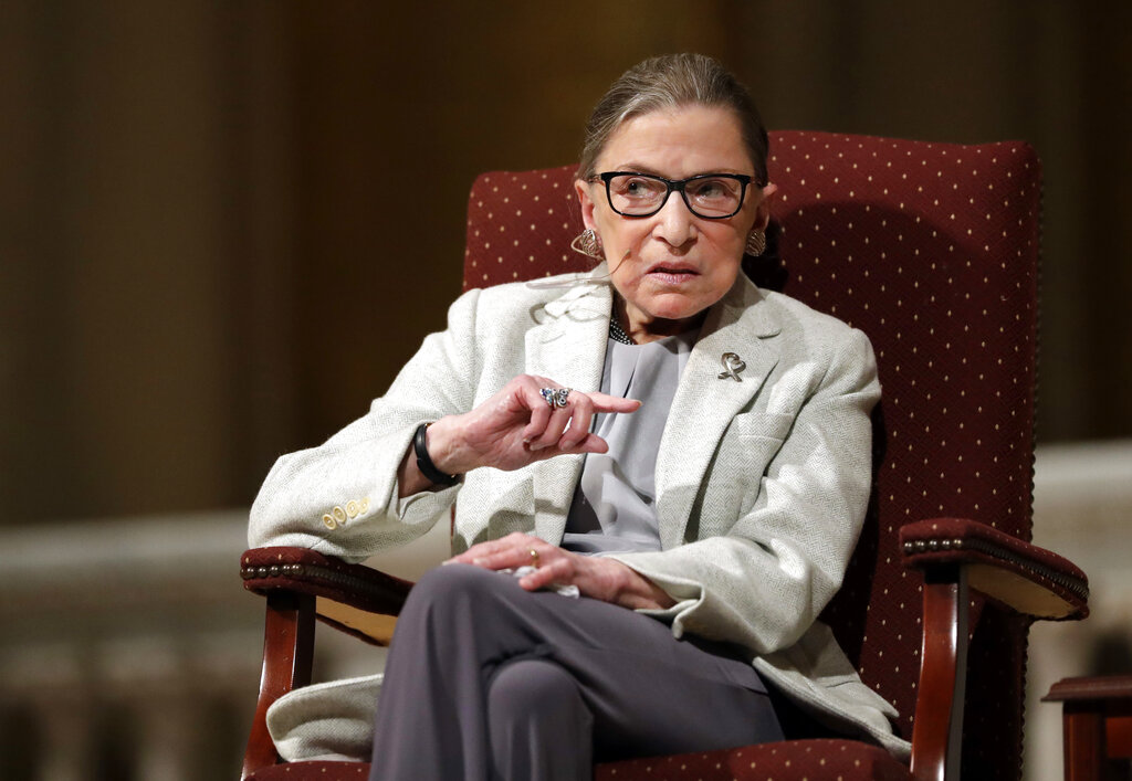 An Argument for Filling Ginsburg's Seat Immediately
