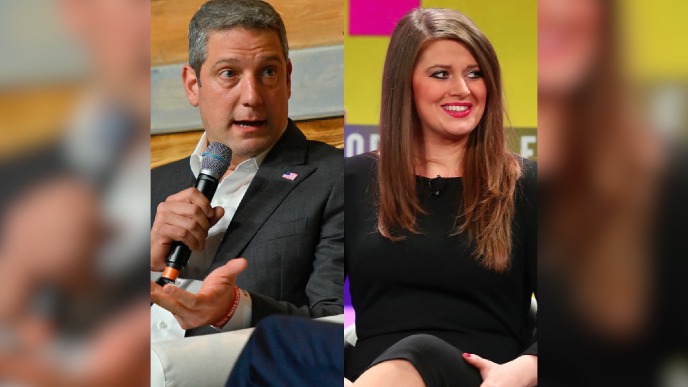 Tim Ryan and Christina Hagan