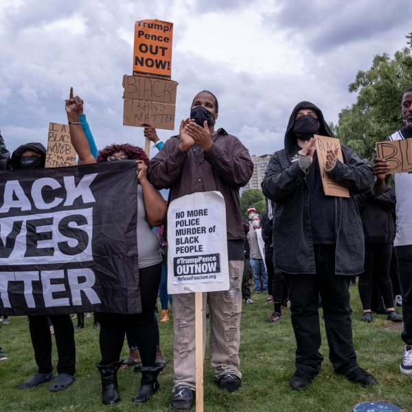 Black Lives Matter protesters gather in Wade Park