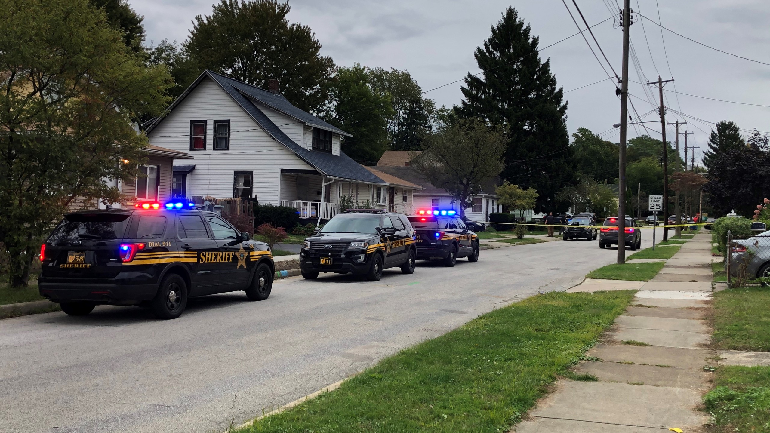 Painesville shooting scene