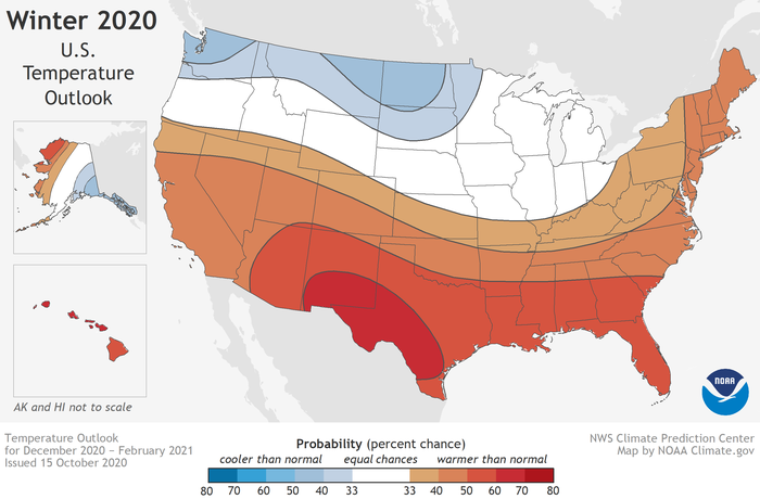 How much cold and snow? NOAA releases winter weather outlook