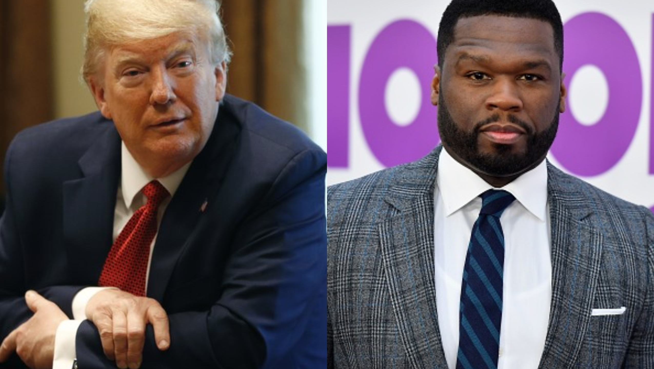 I Don T Want To Be 20 Cent Rapper 50 Cent Endorses Trump For President