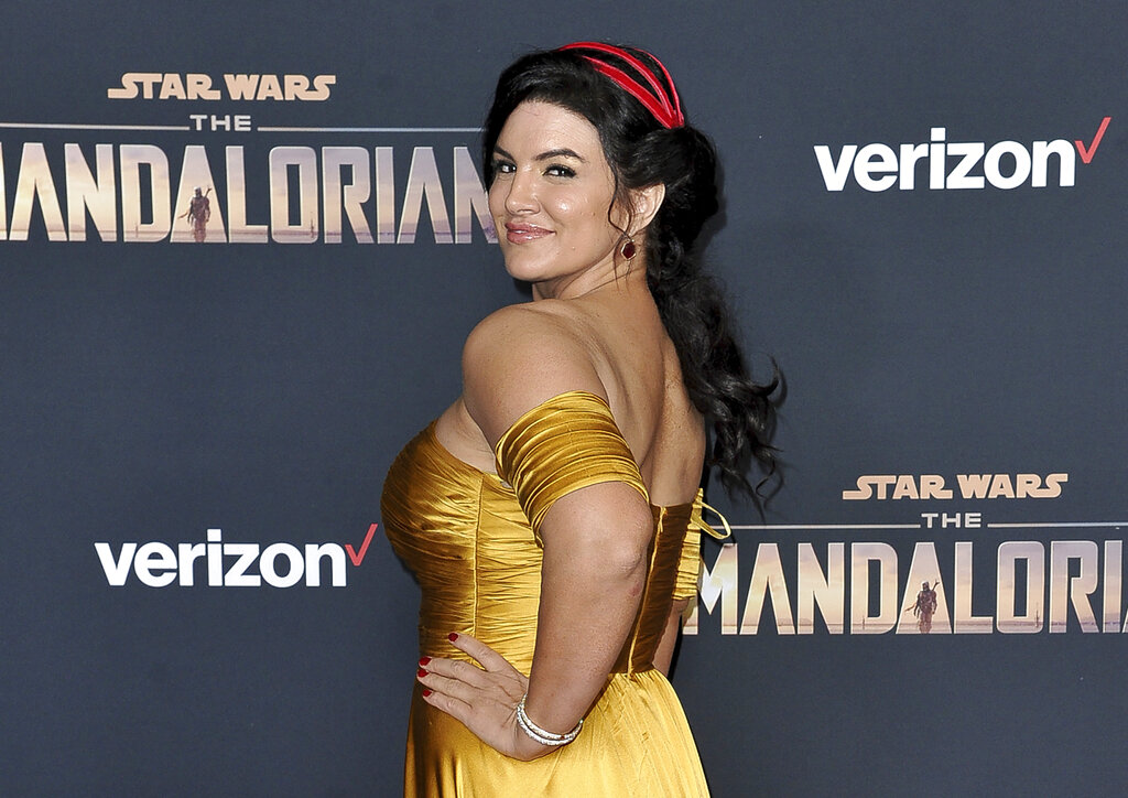 Gina Carano fired from 'The Mandalorian' over social media post
