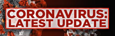 Coronavirus banner 2021 update
