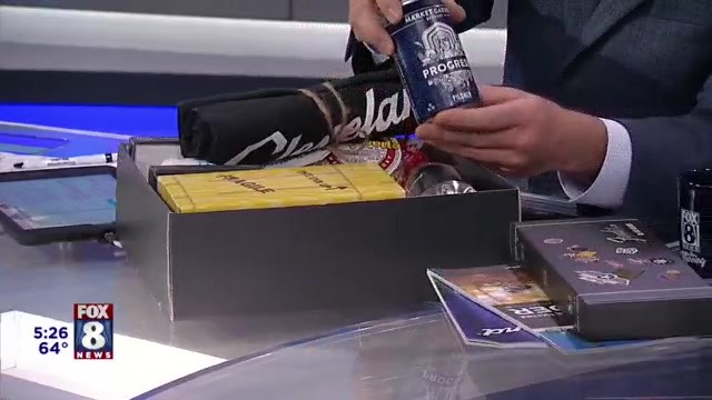 FOX 8 gifts Chargers with special Cleveland box after dig at Browns