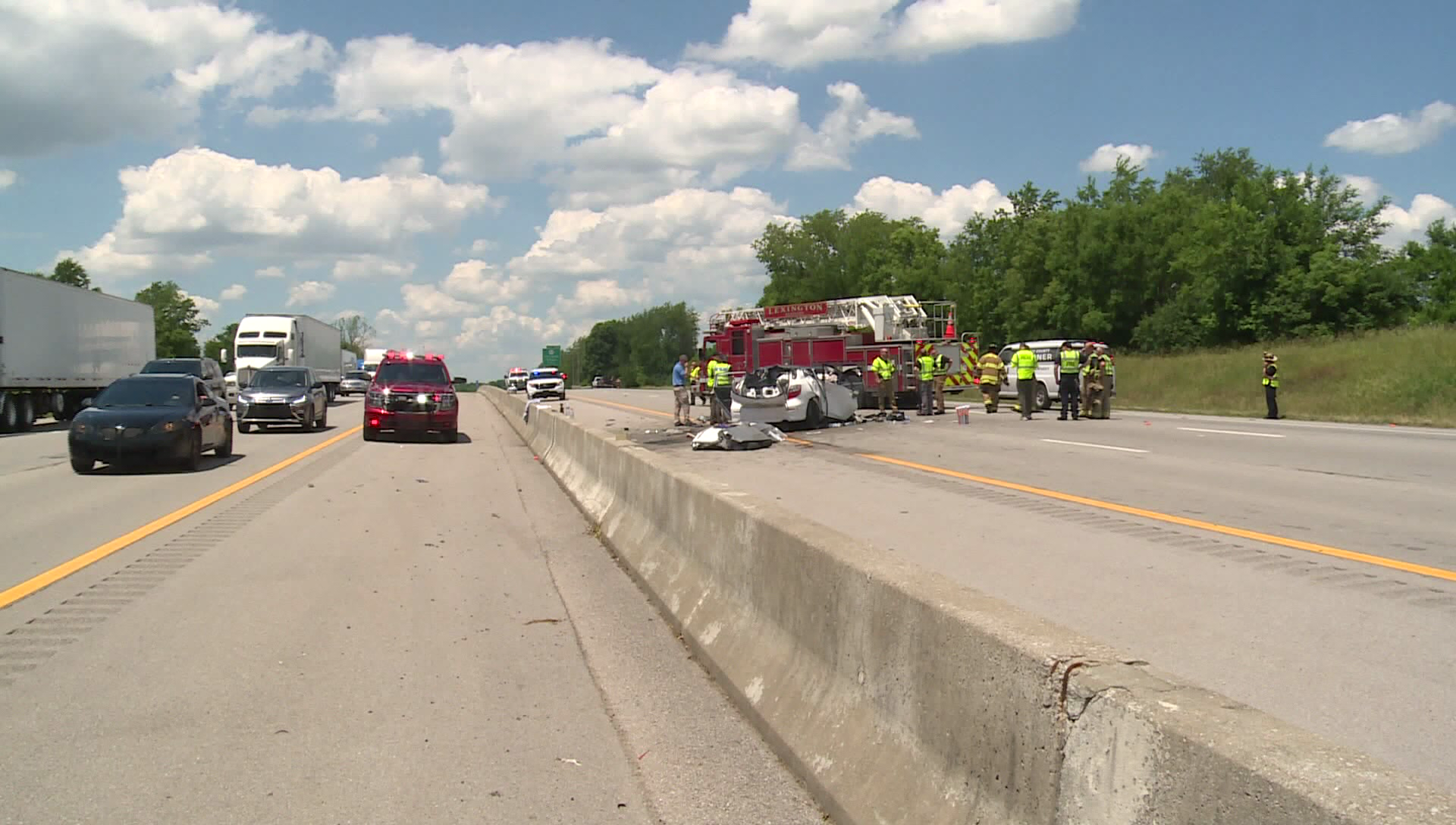 Six People Killed, Including Four Children, in Wrong-Way Crash on Kentucky Highway