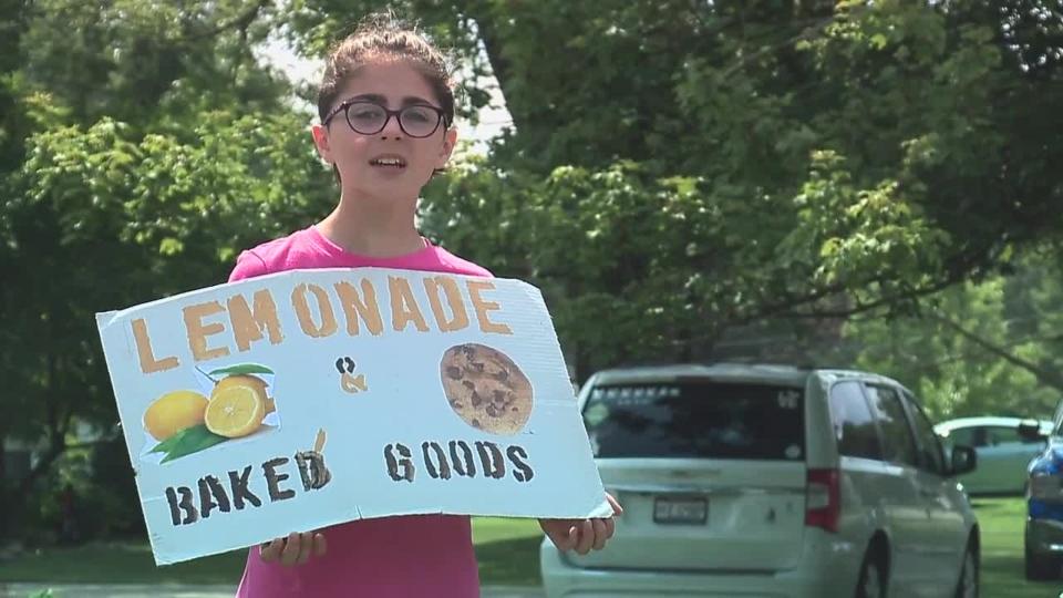 Elyria charity lemonade stand