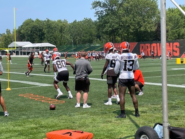 Browns camp