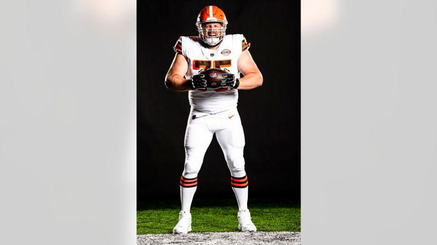 Browns 75th uniform