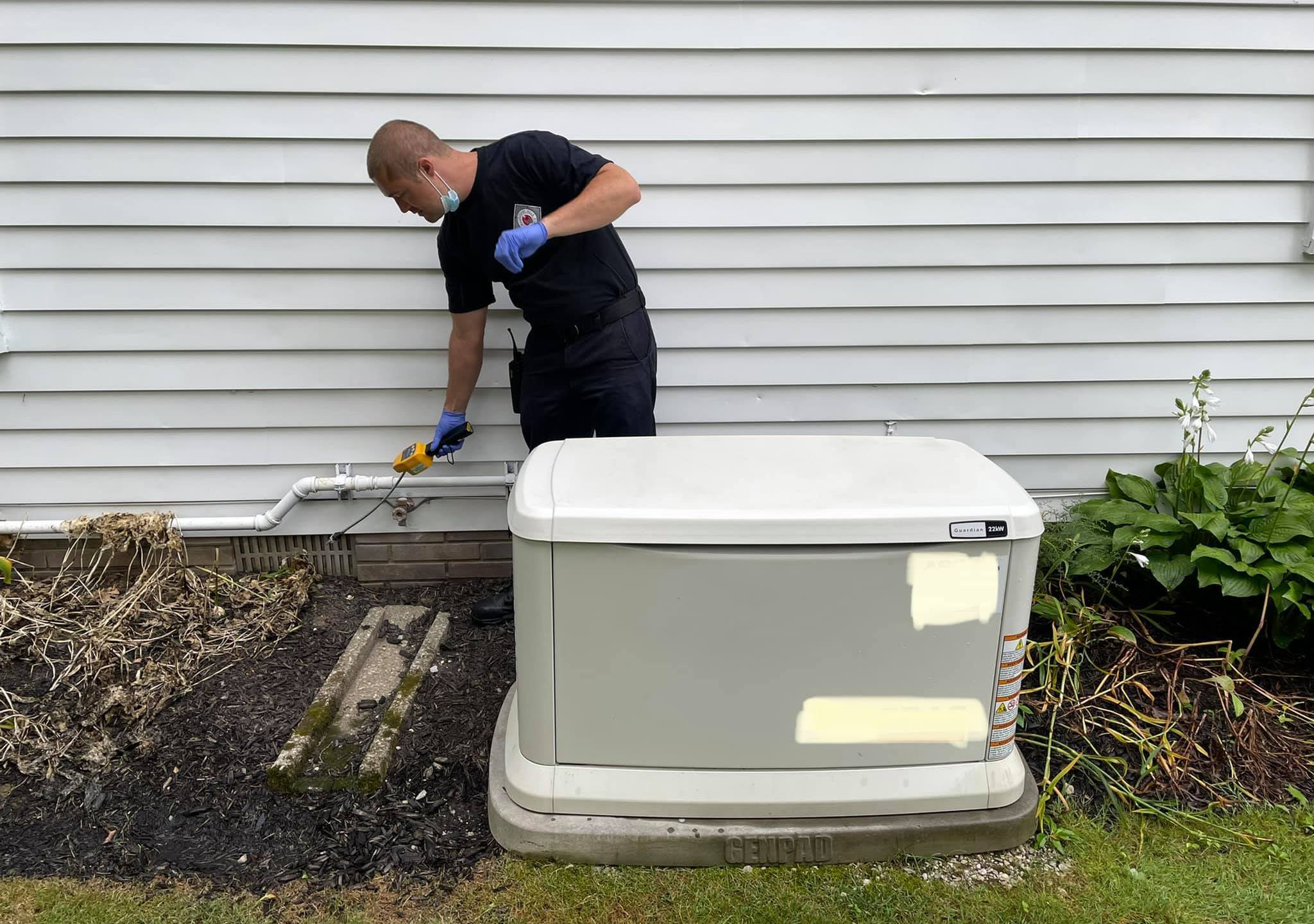 Willoughby Hills Fire Department, emergency generator safety