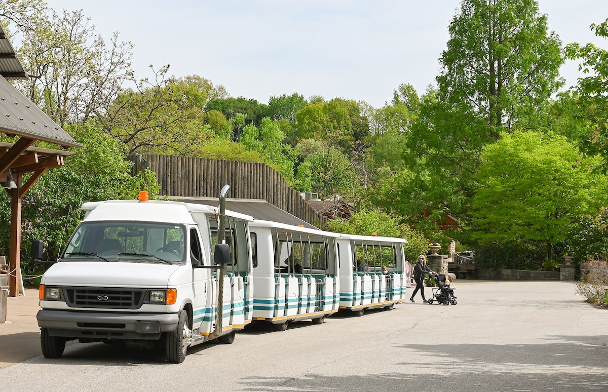 Cleveland Metroparks Zoo tram