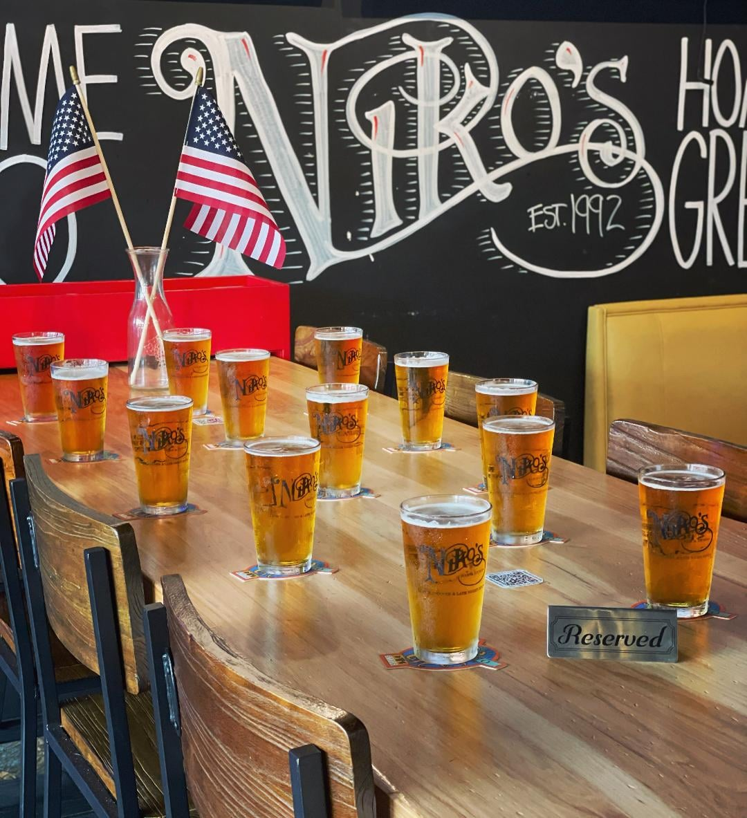 Niko's Bar and Gyros honoring Americans killed in Afghanistan