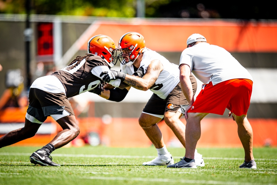 Browns Training Camp Day 5