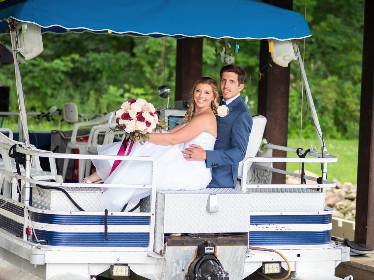 Josh and Heather Parr wedding