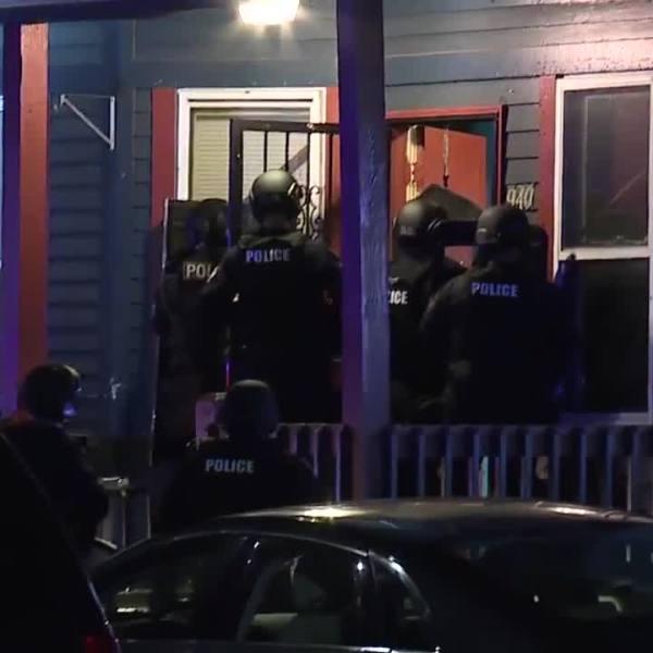 Cleveland DEA raid on Ida Avenue