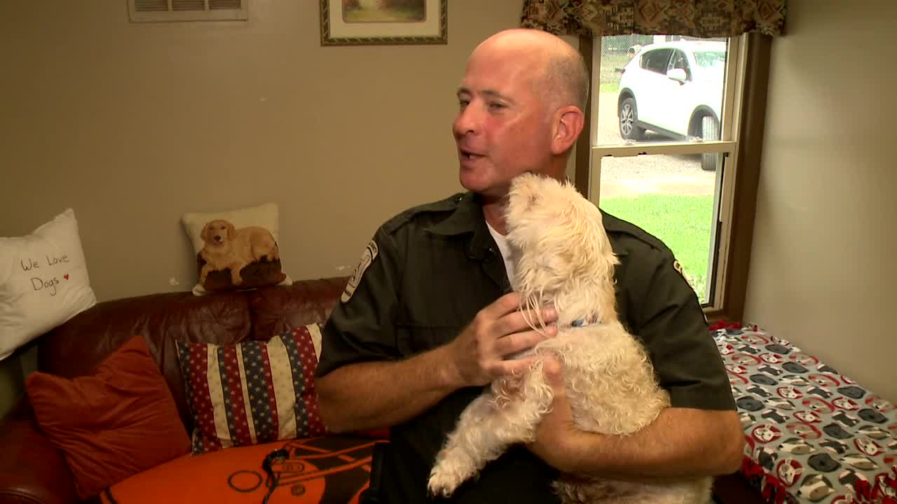 Neglected dog taken to Geauga County Dog Warden