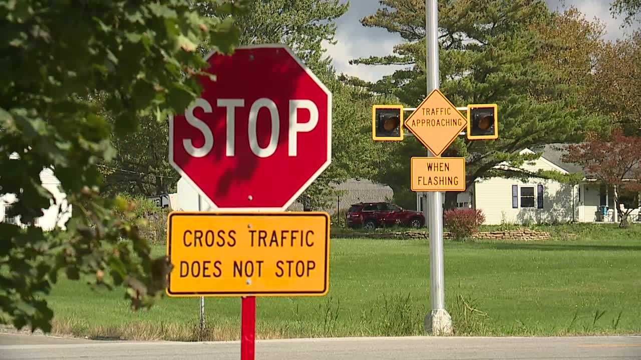 New alert system at Geauga County intersection