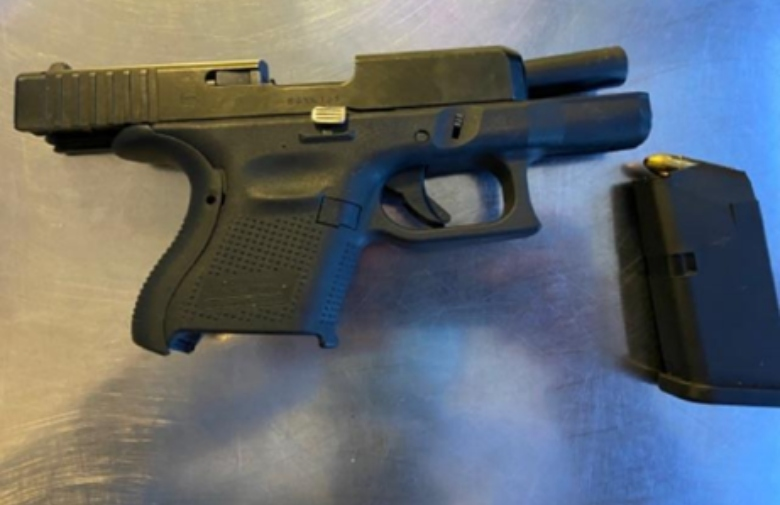 TSA firearm seized at Hopkins Airport