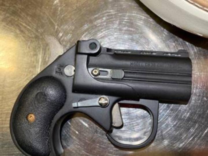 TSA handgun taken at Hopkins Airport